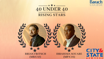 Brian Fritsch and Ibrahima Square